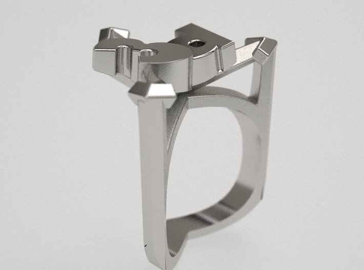 3december ring - original design 3d printed