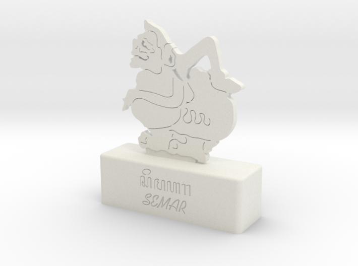 SEMAR WAYANG JAWA (JAVA SHADOW PUPPET) 3d printed