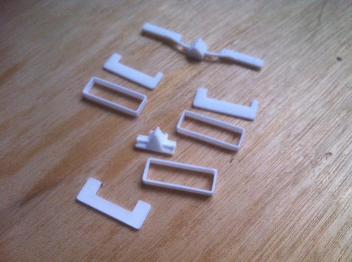1:160/N-Scale Triple Mower 3d printed Add a caption...