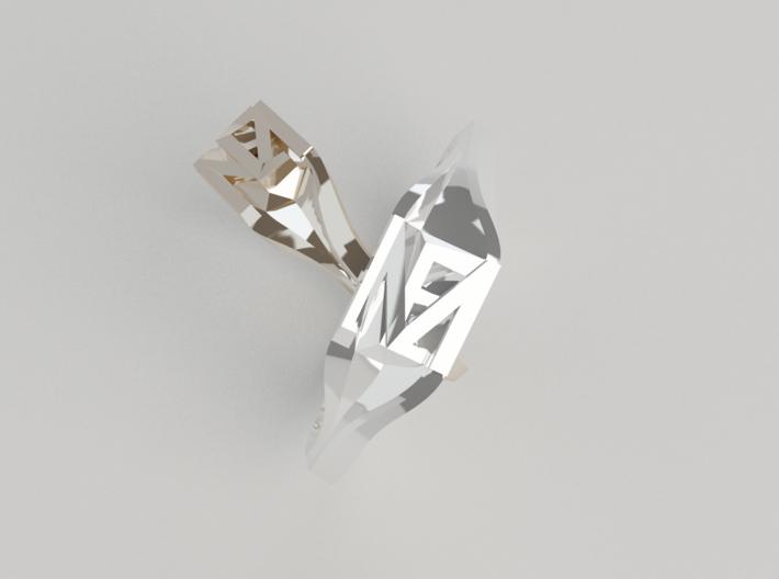 E+M Weeding Rings 3d printed