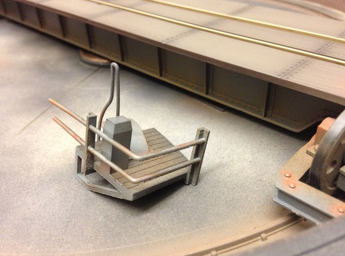 Addition for vaccum tank peco turntable 3d printed