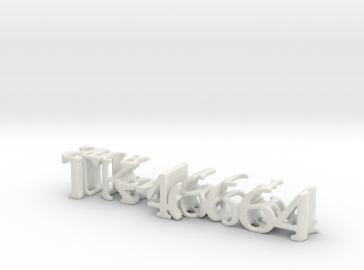 3dWordFlip: TK-46664/StormTrooper 3d printed