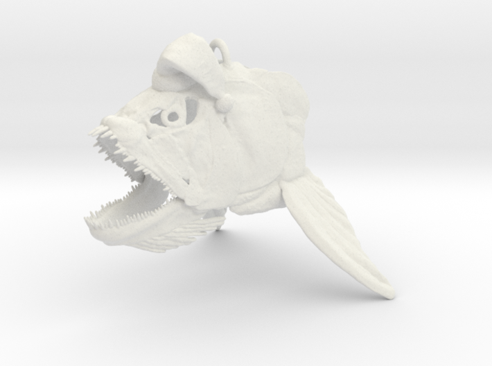 Xiphactinus Ornament With Hat 3d printed