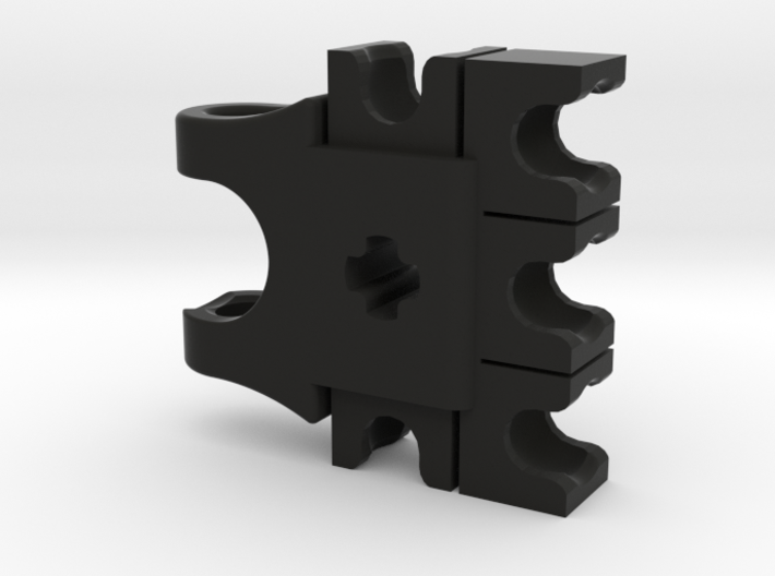 CCBS Hand With Mixel Sockets 3d printed