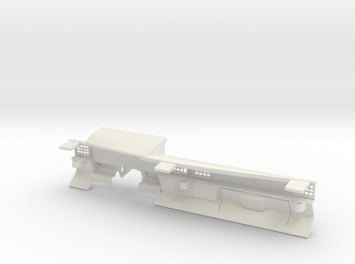 RCN009b dashboard right 3d printed
