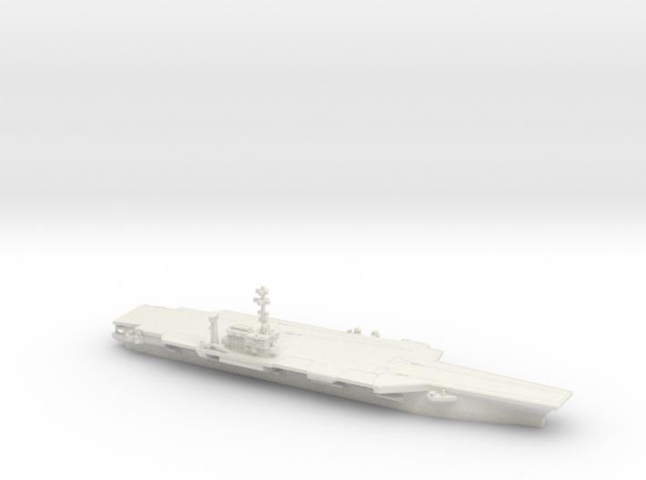 1/1800 USS Kitty Hawk CV-63 3d printed