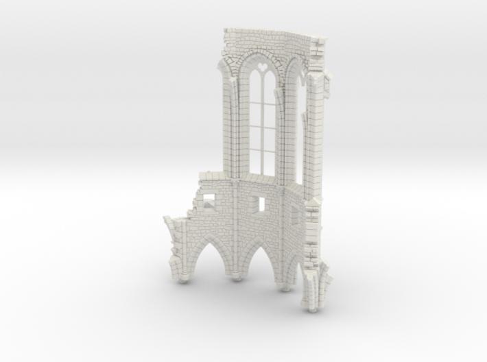 HORelRu01 - Great ruin of Gothic church 3d printed