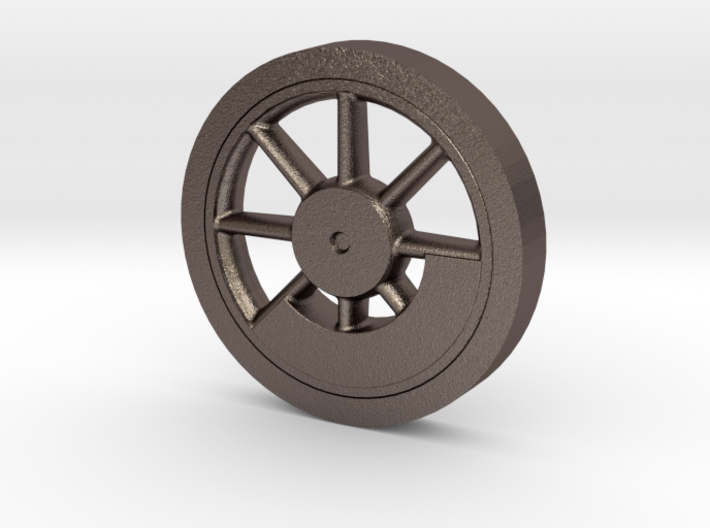 """Baldwin 33 inch Driver Center with Blind Tire .625 3d printed Baldwin 33"""" Driver with CWT and Blind tire"""