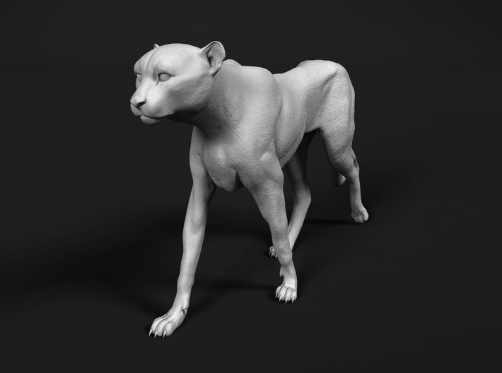 Cheetah 1:87 Walking Male 1 3d printed