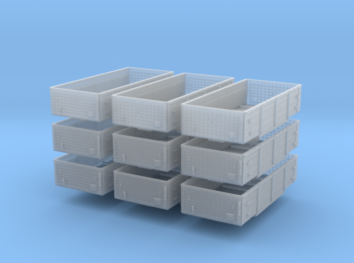 Dace x9 Multipack (Corrugated End) 3d printed