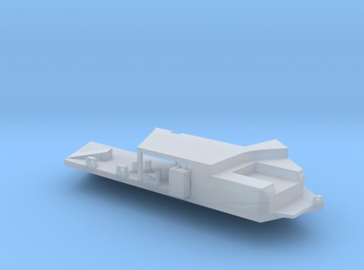 1:350 Scale USS Enterprise Aft Port Sponson 3d printed