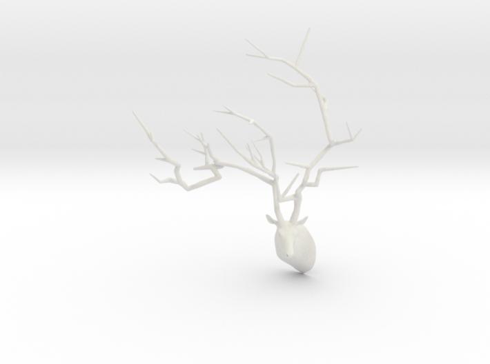 Sakura Tree Deer head 3d printed