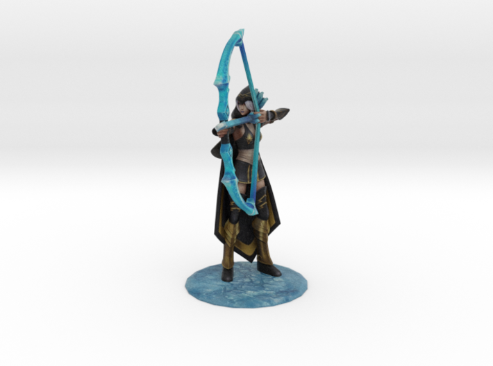Classic Ashe (old) 3d printed