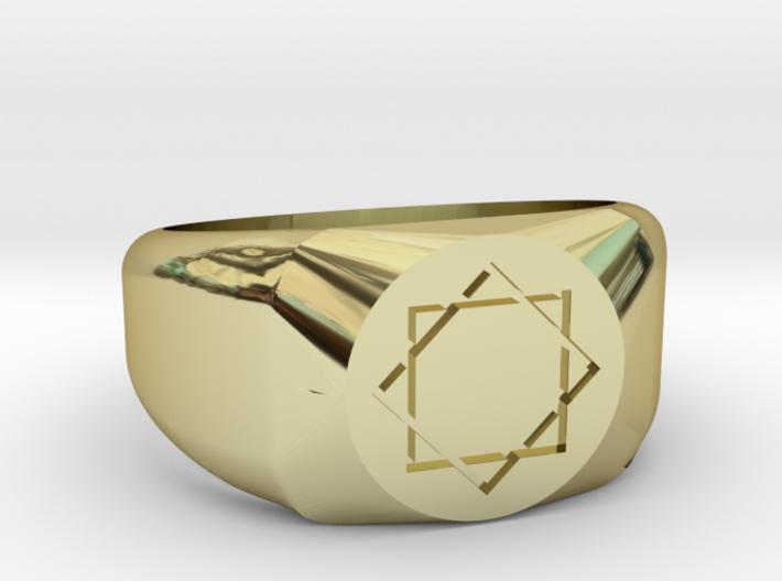 L'Octogramme - Bague d'Hermès 3d printed