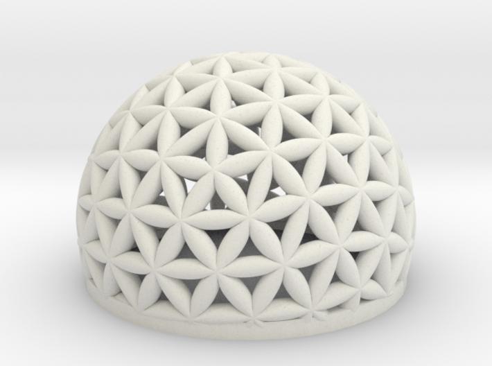 144_ abstracted_HemiSphere bowl 3d printed