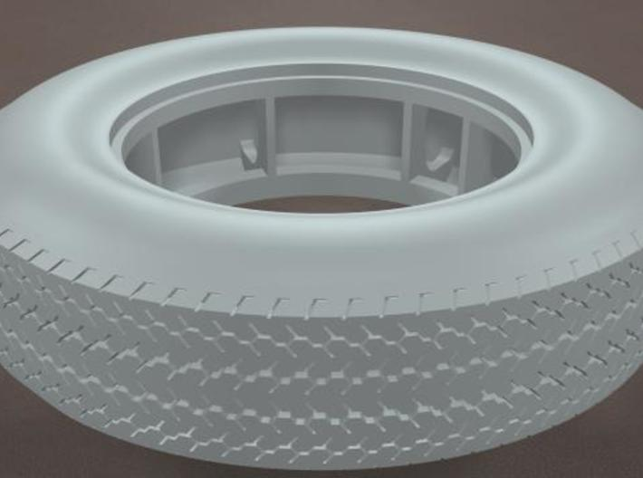 TDR 427 Roadster Round Street Tire 3d printed