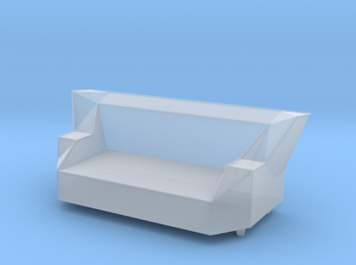 Printle Thing Sofa 08 - 1/43 3d printed