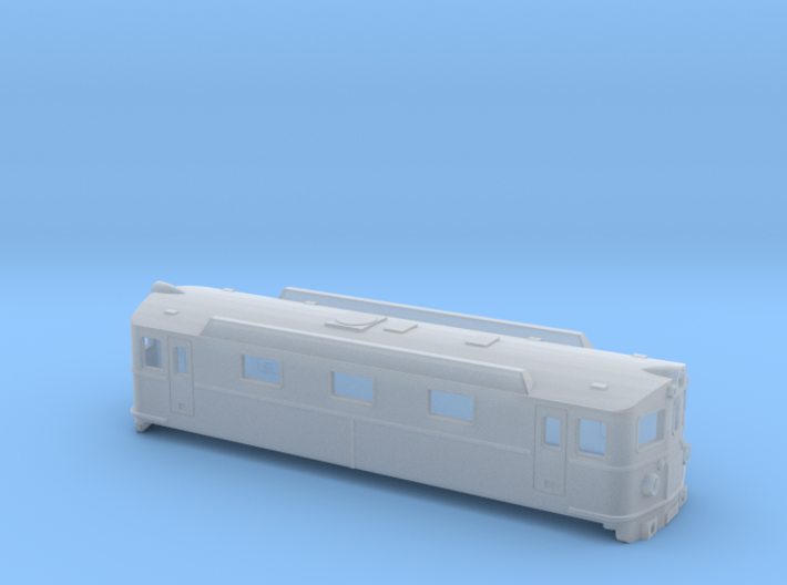 Swedish SJ electric locomotive type Da - N-scale 3d printed