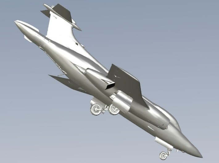 1/350 scale Blackburn Buccaneer aircraft model x 2 3d printed