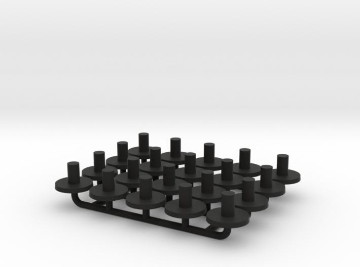 N Gauge Replacment Graham Farish Bolster Pins x20 3d printed