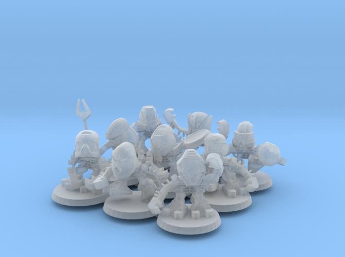 Tohunga Miniatures 3d printed