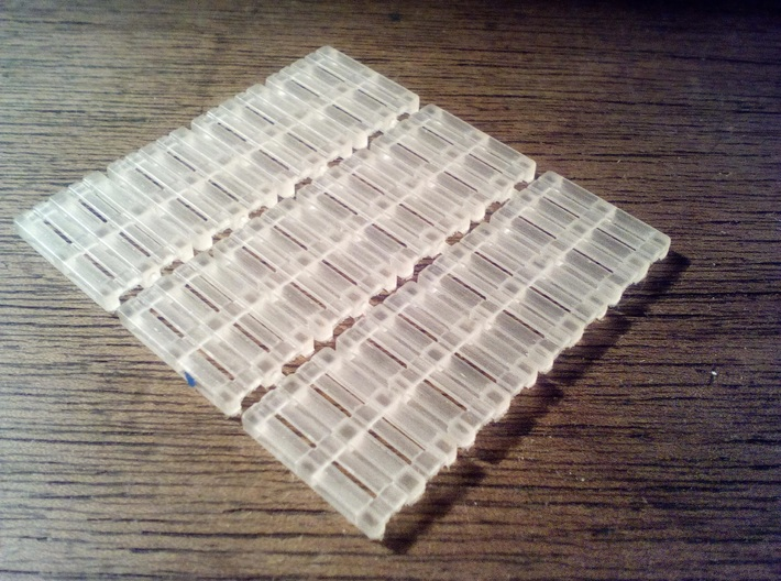 1/87th (H0) scale Pallets (12 pieces) 3d printed