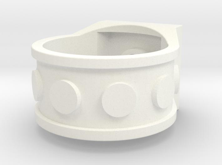 Brick Ring-4 Stud - Size 10 3d printed