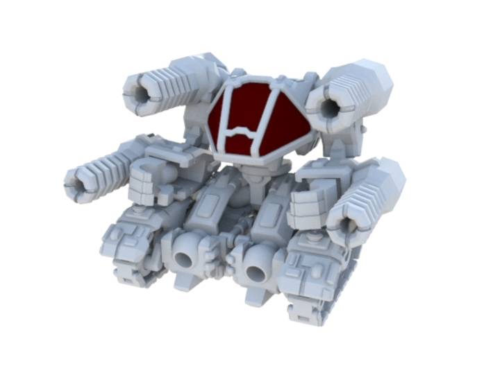 04-LAU Invader 3d printed 04-LAU Invader (Tank Mode)