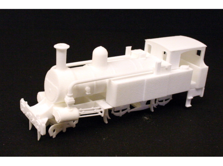 Metropolitan Railway A Class 3d printed Front view of the assembled model