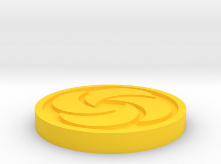 Bombos Medallion 3d printed