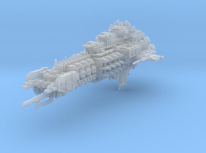 Valkyrie Battlecruiser 3d printed