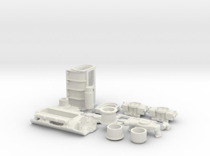 1/12 BBC GMC Blower System 3d printed