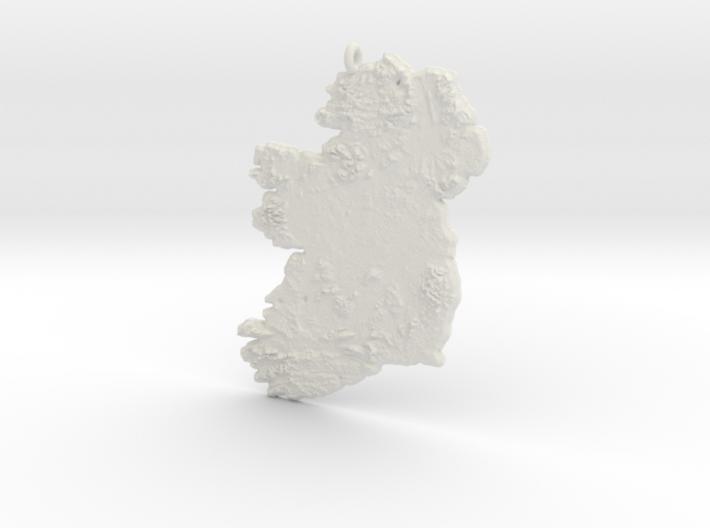 Ireland Christmas Ornament 3d printed