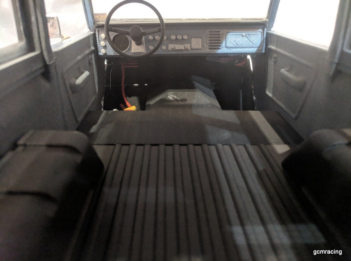 CMAX Bronco Front Console Firewall 2 Seat 3d printed