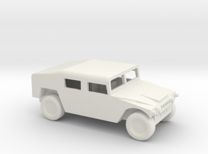 1/100 Scale Humvee Shelter M1025 3d printed