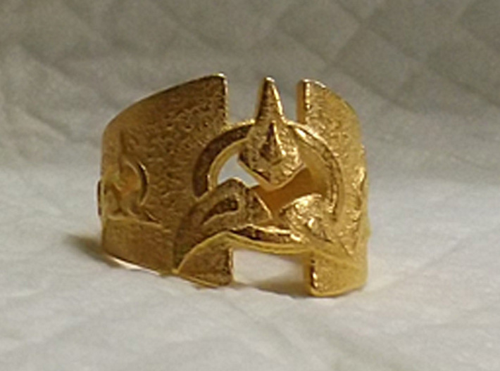 To Wed A Warrior Ring 3d printed