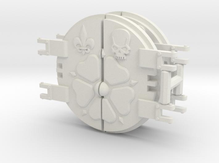 Order of the Sacred Flower Rhinoceros mk.1 Door 3d printed