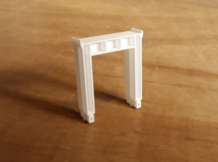 43-01 Loco Lift Extension Arch 3d printed White Strong & Flexible As Delivered