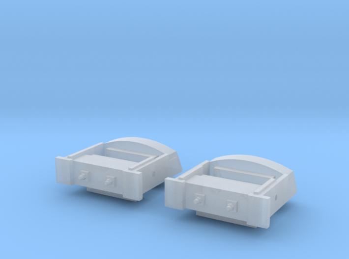 HO030_GE_COUPLER_BUFFER_PLATE_EARLY 3d printed