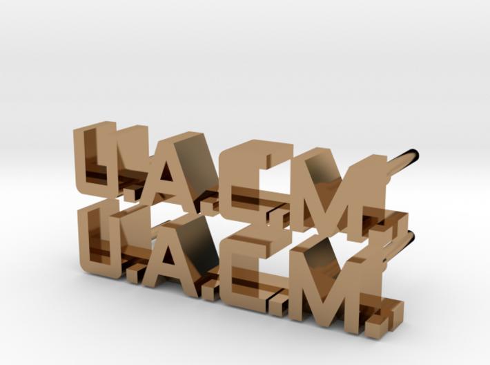 ALIENS: UACM Enlisted Collar Pin Badge Set 3d printed