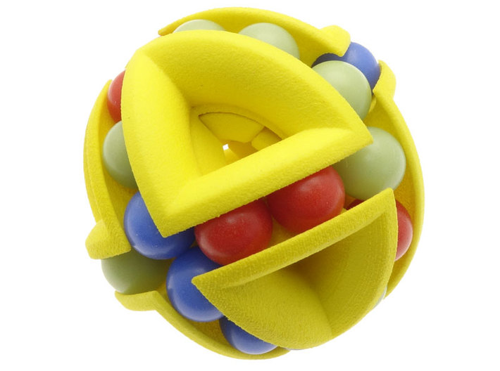 Balled Ball 3d printed