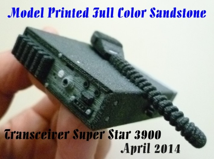 Full Color Transceiver Super Star 3900 3d printed
