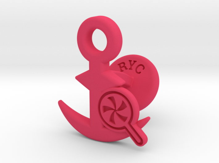 Cufflinks - Do your Rubesty! 3d printed