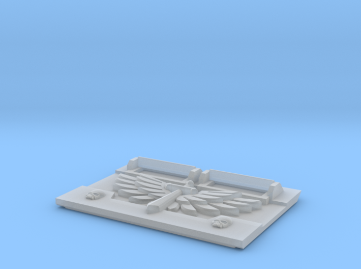 Winged Sword : M2a Troop Tank Front 3d printed