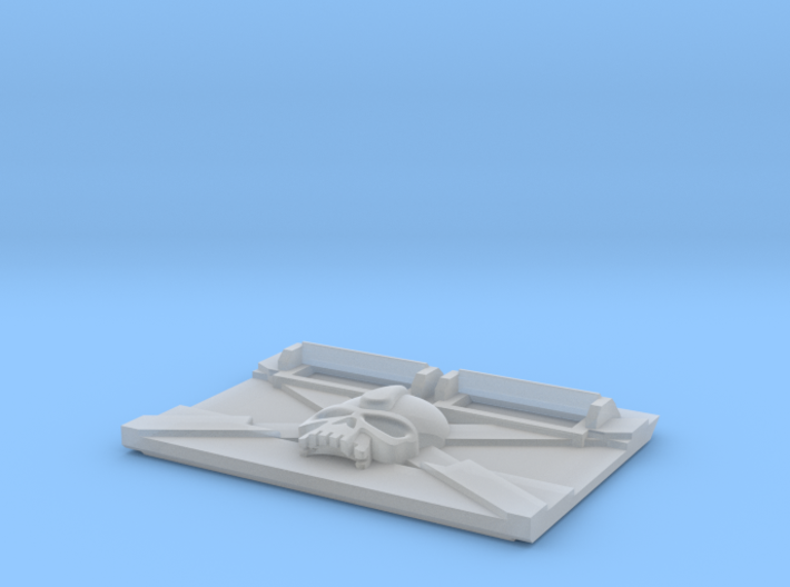 Death Team : M2a Troop Tank Front 3d printed