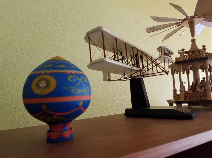 Balloon Brothers Montgolfier 1783 3d printed