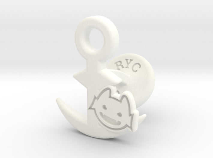 Cufflinks - Little Demon! 3d printed