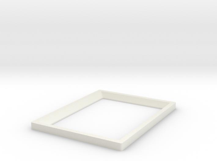 DIY 3.5''x2.5'' Frebird photo frame - Front 3d printed Frebird FBA-ART-01-P3