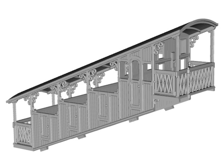 HOfunMD01 - Mont Dore funicular 3d printed