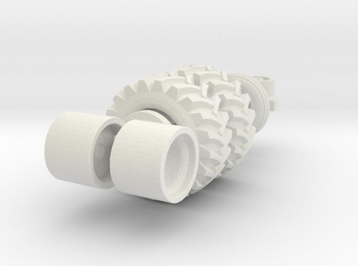 Swather Wheels 3d printed